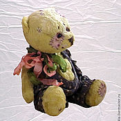 """Мишки Тедди ручной работы. Ярмарка Мастеров - ручная работа Авторские медведи в стиле """"Винтаж"""". Handmade."""