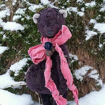 Куклы и игрушки ручной работы. Ярмарка Мастеров - ручная работа Тедди медведь Тюльпан. Handmade.