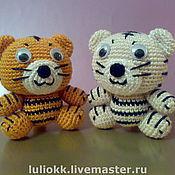 Куклы и игрушки ручной работы. Ярмарка Мастеров - ручная работа Тигрята амигуруми. Handmade.