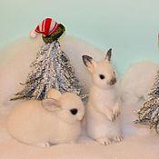 Куклы и игрушки handmade. Livemaster - original item rabbits