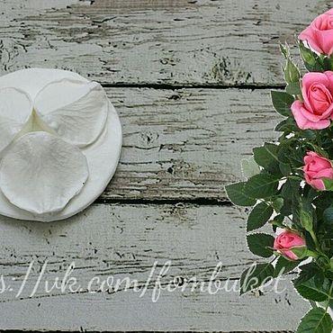 Материалы для творчества ручной работы. Ярмарка Мастеров - ручная работа Молд для фоамирана роза комнатная. Handmade.