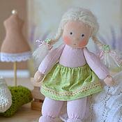Куклы и игрушки ручной работы. Ярмарка Мастеров - ручная работа Вальдорфская кукла Зефирка, 26 см. Handmade.