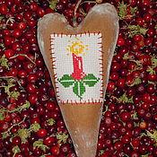 Подарки к праздникам ручной работы. Ярмарка Мастеров - ручная работа Пряничное сердце. Handmade.