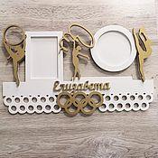 Держатели ручной работы. Ярмарка Мастеров - ручная работа Медальница для гимнастки. Handmade.