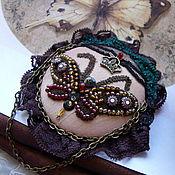 """Украшения ручной работы. Ярмарка Мастеров - ручная работа Брошь """" Королевская бабочка"""". Handmade."""