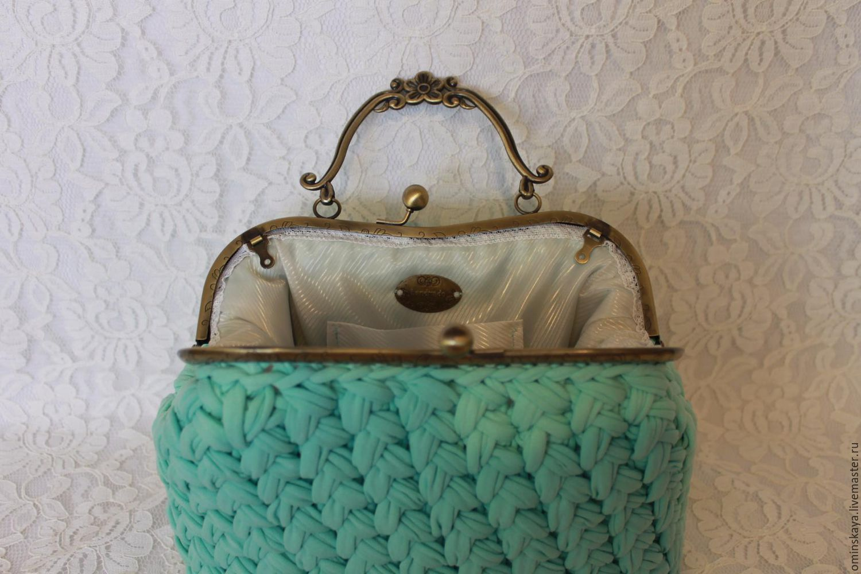 Вязание сумки крючком мастер