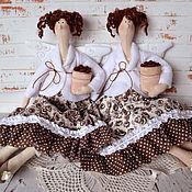 Куклы и игрушки ручной работы. Ярмарка Мастеров - ручная работа Кофейная фея. Handmade.