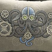 Для дома и интерьера handmade. Livemaster - original item Decorative pillows with embroidery. Handmade.
