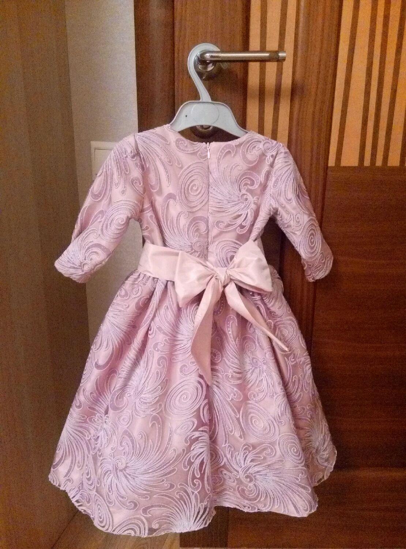 Платья для девочек 86 размер
