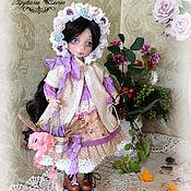 Куклы и игрушки ручной работы. Ярмарка Мастеров - ручная работа Дианочка, коллекционная текстильная кукла.. Handmade.
