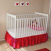 Юбка для кроватки малыша