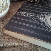 """Картины и панно ручной работы. Ярмарка Мастеров - ручная работа Панно винтажное """" Ах, Париж"""". Handmade."""