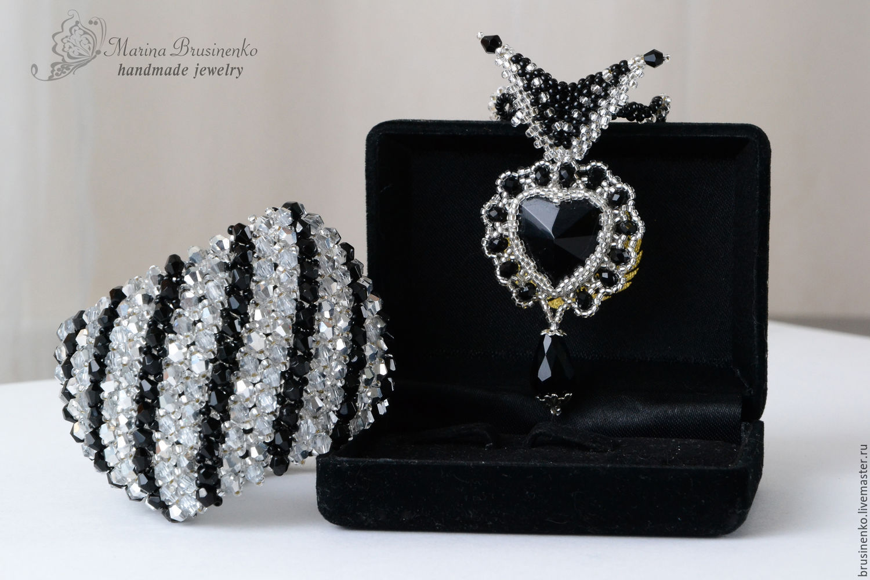 Set of beaded elegant, Jewelry Sets, Novosibirsk,  Фото №1