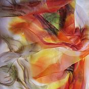"""Аксессуары ручной работы. Ярмарка Мастеров - ручная работа Шарф """"Маки"""". Handmade."""