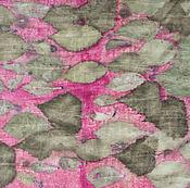 Аксессуары ручной работы. Ярмарка Мастеров - ручная работа Шелковый шарф Розовый листопад. Handmade.