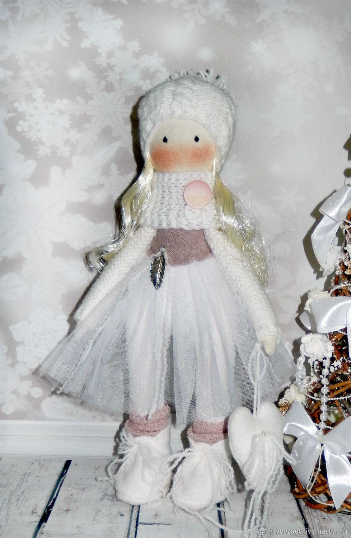 Кукла текстильная Новогодняя, Тыквоголовка, Йошкар-Ола,  Фото №1