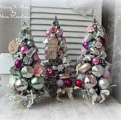 Подарки к праздникам ручной работы. Ярмарка Мастеров - ручная работа Винтажные рождественские ели. Handmade.