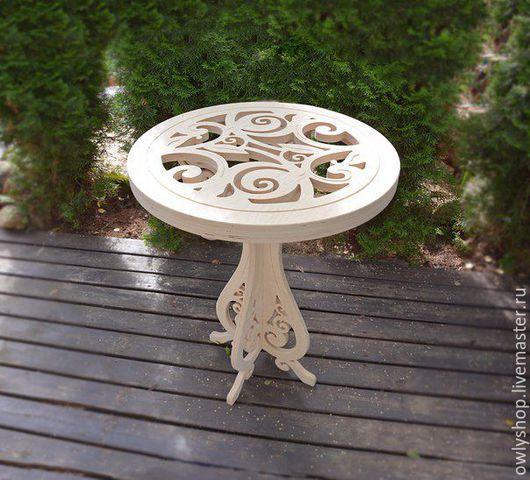 Мебель ручной работы. Ярмарка Мастеров - ручная работа. Купить кофейный столик. Handmade. Бежевый, мебель из дерева, фанера берёзовая