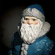 Подарки к праздникам ручной работы. Ярмарка Мастеров - ручная работа Дед Мороз под ёлку. Handmade.