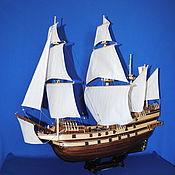 Сувениры и подарки ручной работы. Ярмарка Мастеров - ручная работа Модель Английского Галеона HMS Revenge. Handmade.