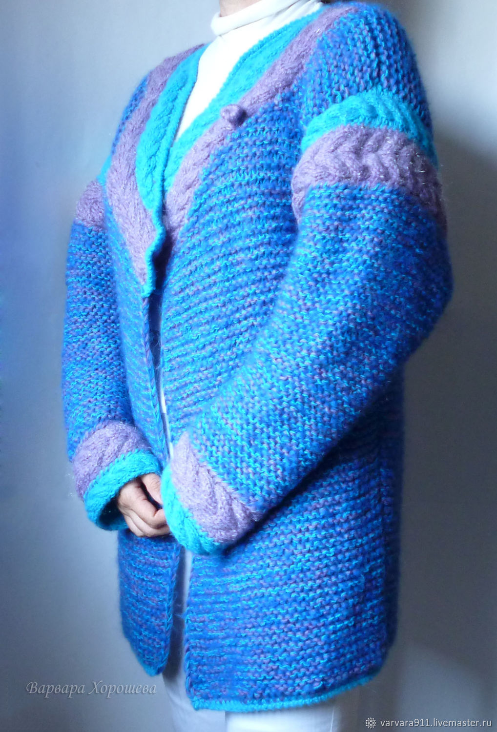 Cool oversized knitted cardigan, Cardigans, Stary Oskol,  Фото №1