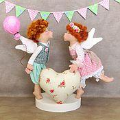 Куклы и игрушки handmade. Livemaster - original item Angels Of Love. Valentines. Handmade.