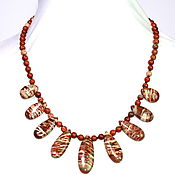 Украшения handmade. Livemaster - original item Necklace genuine Ural Jasper. Handmade.