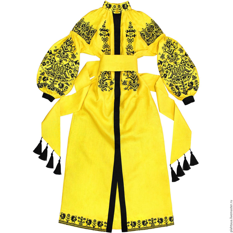 """Длинное платье с вышивкой """"Царь-Птица"""", Dresses, Kiev,  Фото №1"""