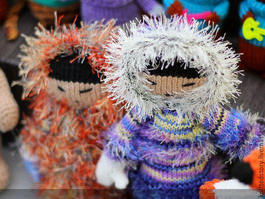 эскимос,эскимос игрушка купить,север,северный стиль,кукла эскимос,кукла в народном костюме,народные промыслы,эскимос ручной работы,игрушки ручной работы,вязаная кукла,северный,крайний север,этнический