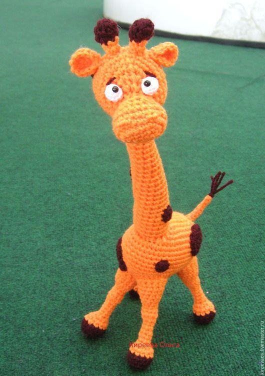 Игрушки животные, ручной работы. Ярмарка Мастеров - ручная работа. Купить жираф. Handmade. Желтый, подарок на новый год, бусины