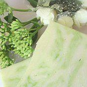 Косметика ручной работы. Ярмарка Мастеров - ручная работа Чарующий ландыш натуральное мыло с шёлком Подарок девушке женщине. Handmade.