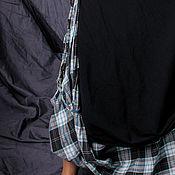 """Одежда ручной работы. Ярмарка Мастеров - ручная работа Асимметричная двойная бохо-юбка """"Путь к себе"""". Handmade."""