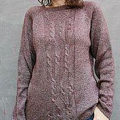Одежда handmade. Livemaster - original item Luxury Yarn Sweater Stylish Jumper. Handmade.