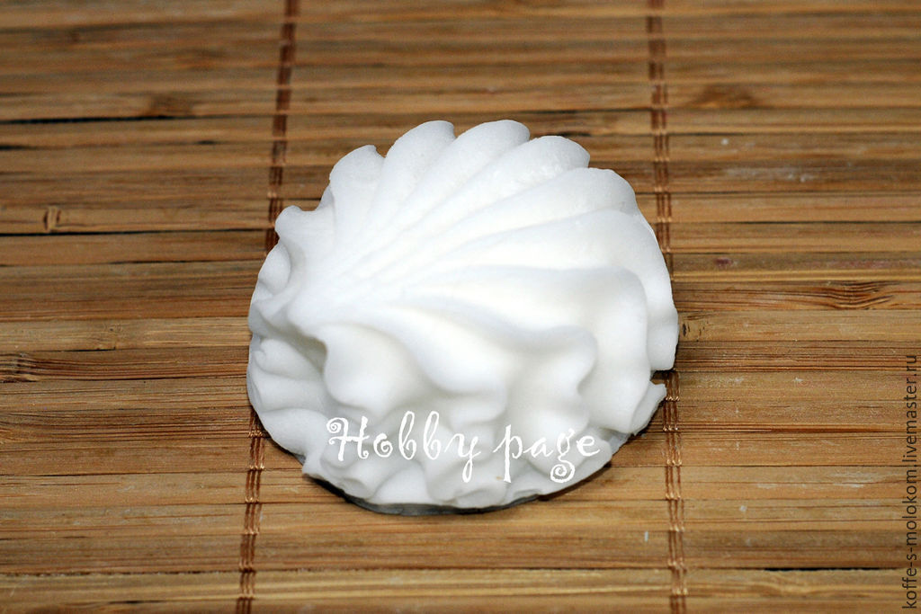 Silicone molds for soap Marshmallow, Form, Moscow,  Фото №1