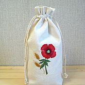 Для дома и интерьера handmade. Livemaster - original item Bags with embroidery for gifts. Handmade.