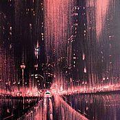 Картины и панно handmade. Livemaster - original item Rain of the Night. Handmade.