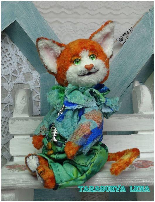 Мишки Тедди ручной работы. Ярмарка Мастеров - ручная работа. Купить Аксель. Handmade. Рыжий, авторская игрушка, стеклянные глаза