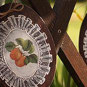 """Картины и панно ручной работы. Ярмарка Мастеров - ручная работа Панно """"Фрукты"""". Handmade."""