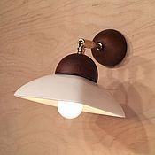 Для дома и интерьера ручной работы. Ярмарка Мастеров - ручная работа Настенный светильник из фарфора. Handmade.