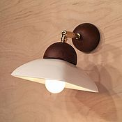 Для дома и интерьера handmade. Livemaster - original item Wall lamp made of porcelain. Handmade.