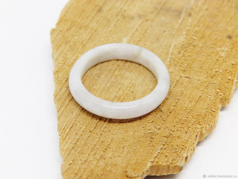 19.5 white jade Ring (10), Rings, Gatchina,  Фото №1