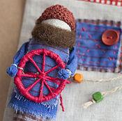 Куклы и игрушки ручной работы. Ярмарка Мастеров - ручная работа Кукла Спиридон-солнцеворот. Handmade.