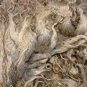 Материалы для творчества ручной работы. Ярмарка Мастеров - ручная работа Руно  длинношерстной овечки #5 за 1 кг 500 руб. Handmade.
