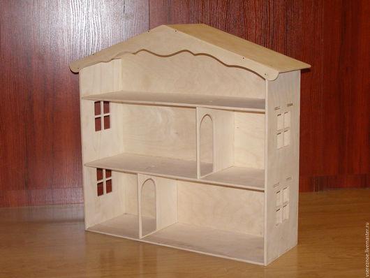 Кукольный дом ручной работы. Ярмарка Мастеров - ручная работа. Купить кукольный домик, домик для кукол.. Handmade. Белый
