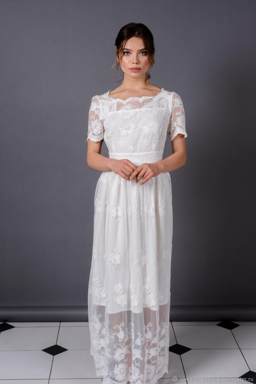 Свадебное платье рустик. Rustic wedding dress, Платья, Москва,  Фото №1