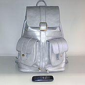 Сумки и аксессуары handmade. Livemaster - original item Backpack leather urban 57S. Handmade.