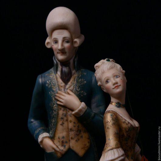 Коллекционные куклы ручной работы. Ярмарка Мастеров - ручная работа. Купить Жан-Жак и Фифи (Жозефина). Handmade. Комбинированный, фарфор