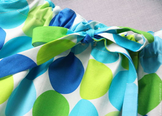 Одежда для девочек, ручной работы. Ярмарка Мастеров - ручная работа. Купить Сарафан для девочки Яркий платье летнее. Handmade. Синий