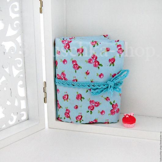 """Куклы и игрушки ручной работы. Ярмарка Мастеров - ручная работа. Купить Ткань хлопок """"Small roses"""". Handmade. Ткань для творчества"""