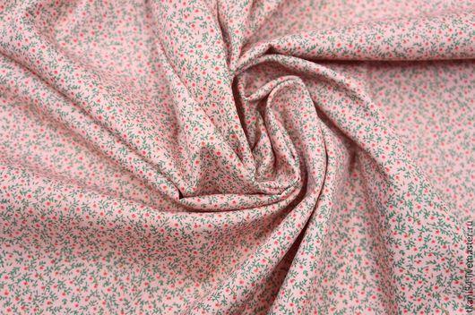 Шитье ручной работы. Ярмарка Мастеров - ручная работа. Купить Ткань плат. хлопок 1523С/1255. 150 см, розовый. Handmade.